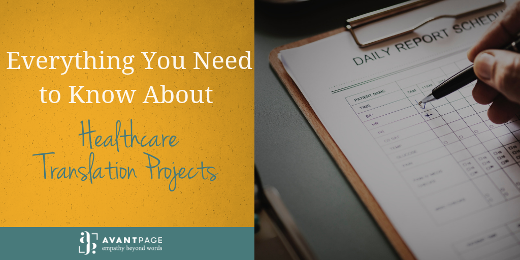 Everything You Need to Know About Healthcare Translation Projects