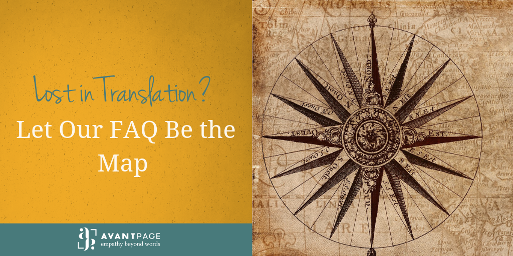 Lost in Translation? Let Our FAQ Be the Map