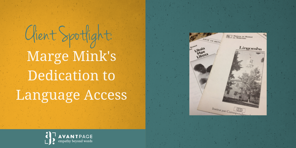 Client Spotlight: Marge Mink's Dedication to Language Access