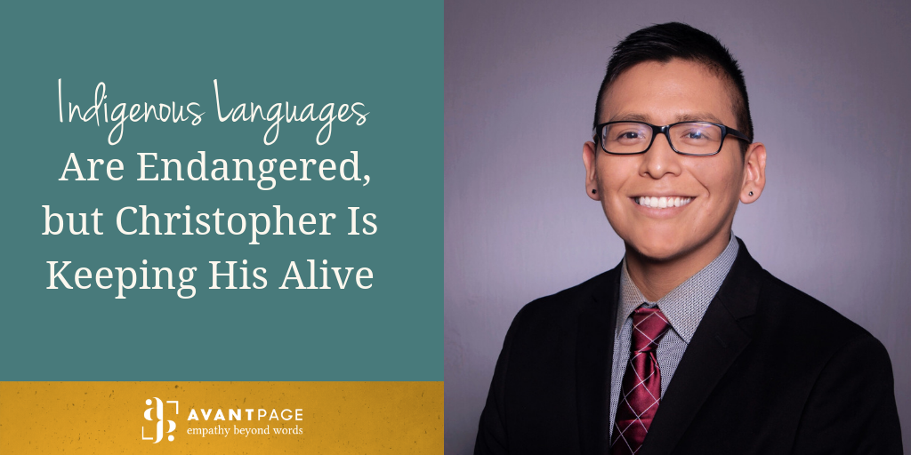 Indigenous Languages Are Endangered, but Christopher Is Keeping His Alive